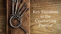 Key Elements in The Counseling Process